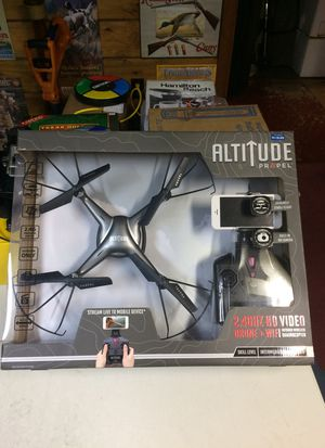 ALTITUDE 2.4GHS HD video drone +wifi for Sale in Bellingham, MA