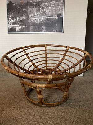 Papasan chair frame for Sale in Denton, TX