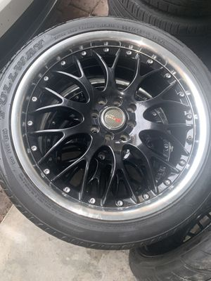 Drags rims brand new rims and tires for Sale in Orlando, FL