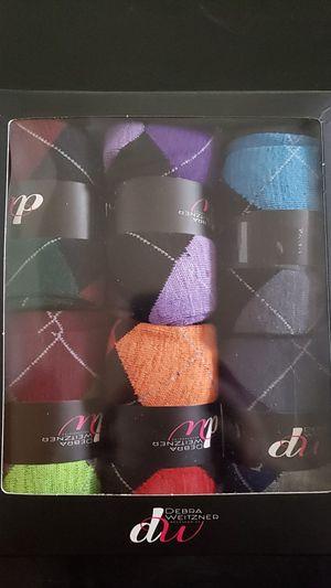 Debra Weitzner Men's Dress Socks Size 10-13 6 Pack for Sale in Edwardsville, KS