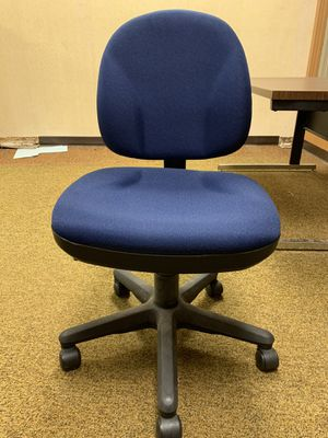 Blue office chair for Sale in Allentown, PA