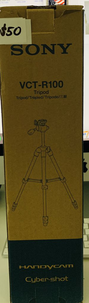 DSLR Camera Camcorder Adjustable Tripod Stand Sony Brand for Sale in San Diego, CA