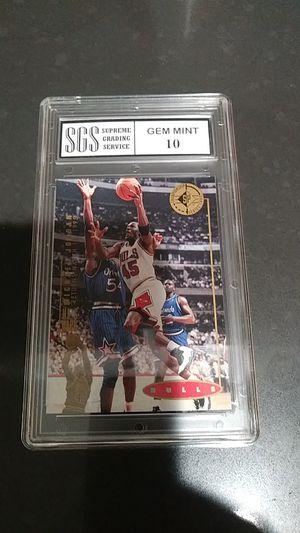 Michael Jordan 1995 upper deck championship series for Sale in Commerce, CA