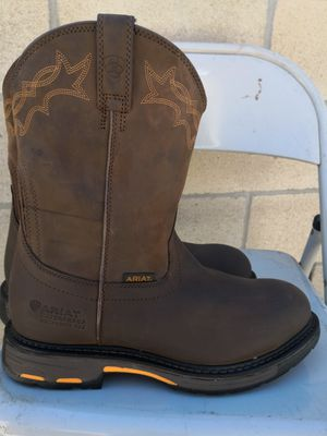 Ariat composite toe work boots size 11EE for Sale in Riverside, CA