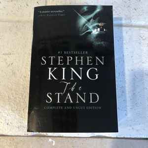 the stand paperback book for Sale in Concord, CA