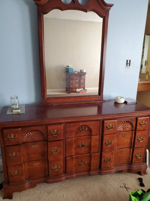 Antique Dresser and Mirror for Sale in Hayward, CA