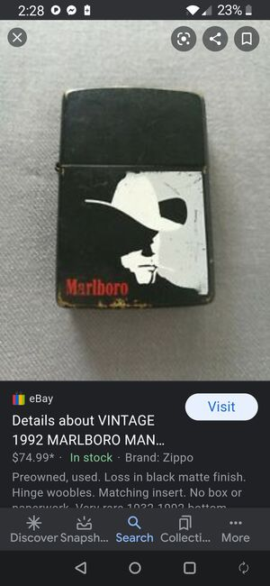 Marlboro Man Zippo for Sale in Lincoln, NE
