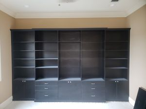 High end wall shelving for Sale in St. Petersburg, FL
