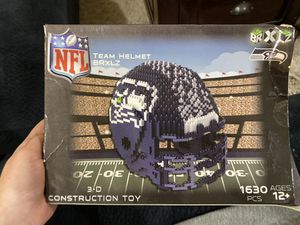 3D Seattle Seahawks lego/toy helmet for Sale in Vancouver, WA