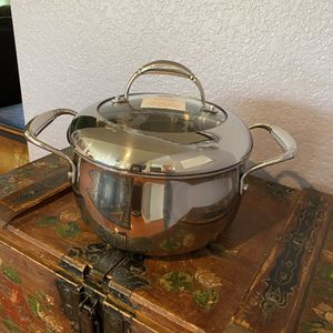 Princess House Tri-Ply Stainless Steel 3 Qt. Domed Casserole - NEW for Sale in Rialto, CA