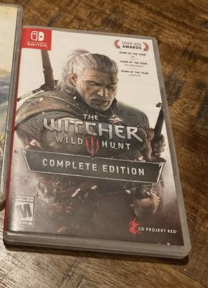 The Witcher 3 Wild Hunt Nintendo Switch Complete Edition for Sale in Roxana, IL