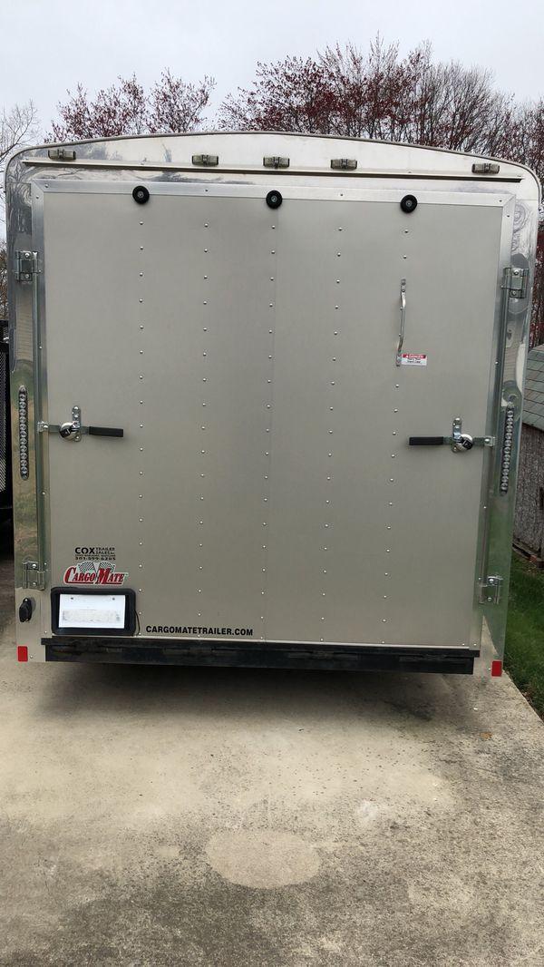 2014 7x14 Enclosed Cargo Mate Trailer