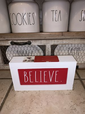 Rae Dunn believe sign for Sale in Fresno, CA