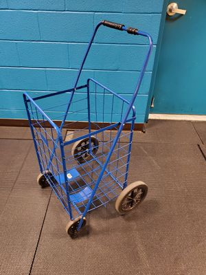 LARGE CAPACITY, 4-WHEEL SHOPPING CART - firm price. for Sale in Alexandria, VA