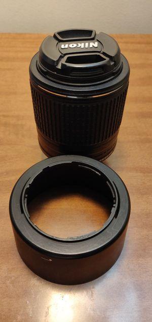 Nikon 55-200mm f/4-5.6G ED AF-X DX VR-II Lens for Sale in Buffalo, NY