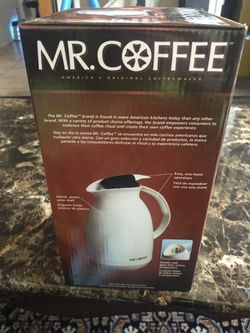 Brand new Mr coffee 32 oz thermal carafe. for Sale in Whittier,  CA