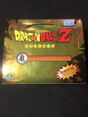 Dragonball Z Lenticular Trading Card Box for Sale in Glendale, AZ