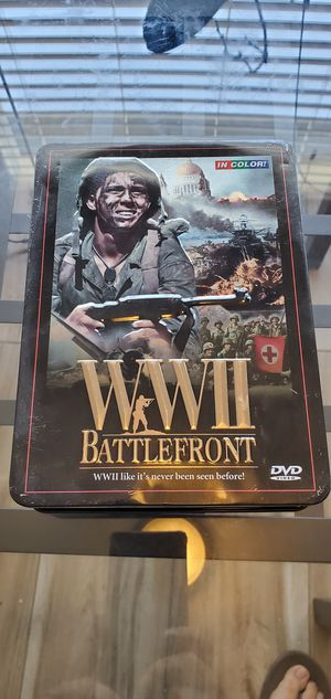 WWII Battlefront DVD in color. for Sale in South Gate, CA