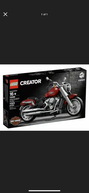 Lego 10269 Harley Davidson Fatboy V39 Motorcycle for Sale in Chicago, IL
