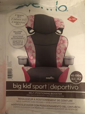 Big Girl Car seat for Sale in Baltimore, MD