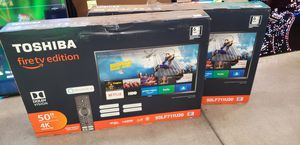 "50"" Toshiba 4k UHD Smart Fire LED TV Brand NEW Never Opened for Sale in San Bernardino, CA"
