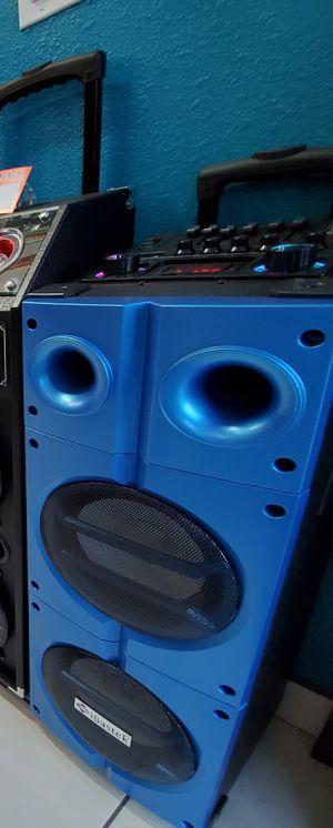 LOUD SPEAKER KARAOKE BLUETOOTH 5800WATTS NEW for Sale in Baldwin Park, CA