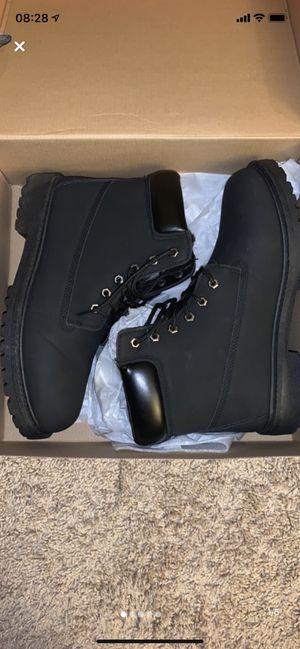 Black boots Men's 11.5 for Sale in Glen Burnie, MD