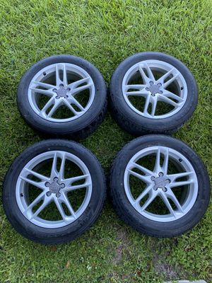 Audi rims and tires for Sale in Palm Beach Gardens, FL