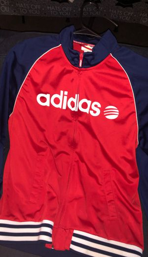 Adidas Track Jacket RED for Sale in Long Beach, CA