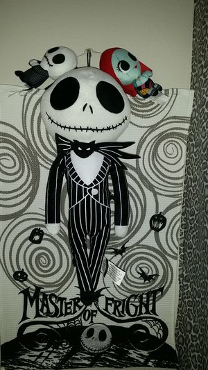 1 X The Nightmare Before Christmas Collectable 25 Years Plush Jack. for Sale in Round Rock, TX