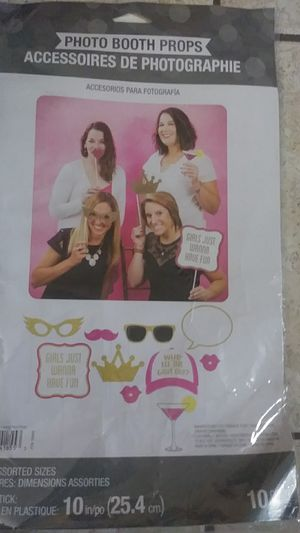 Photo booth props for Sale in Tustin, CA