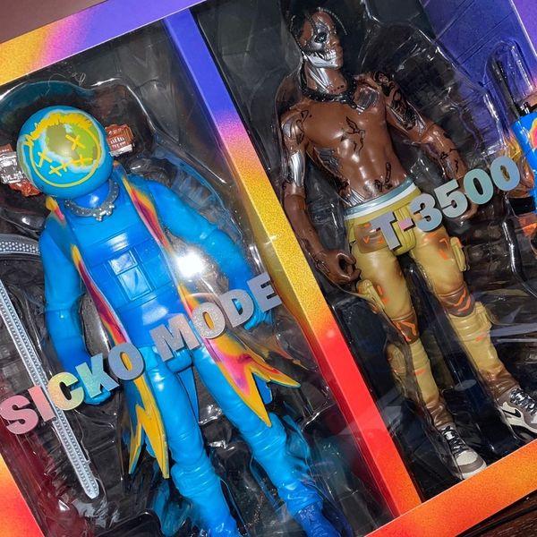 """Travis Scott Cactus Jack Fortnite 12"""" Action Figure Duo"""
