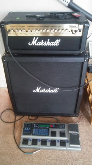 Marshall mg100hdfx half stack for Sale in Hartford, CT