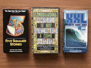 Surf Videos - VHS for Sale in Fort Lauderdale, FL