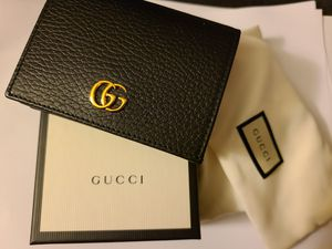 (NEW/Authentic)Gucci leather card wallet for Sale in Buena Park, CA