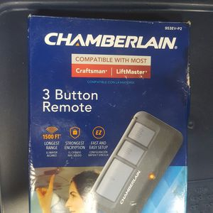 Chamberlain 3 Button Remote for Sale in Phoenix, AZ