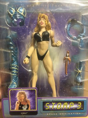 SABLE collectible action figure WWF space domination for Sale in Lake Forest, CA