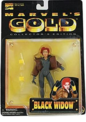 Marvel's GOLD Black Widow Action Figure New for Sale in Rosedale, MD