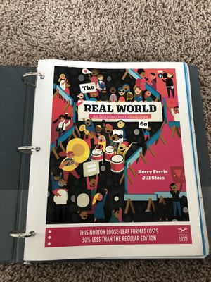 Real World: An introduction to Sociology- 6th edition for Sale in Raleigh, NC
