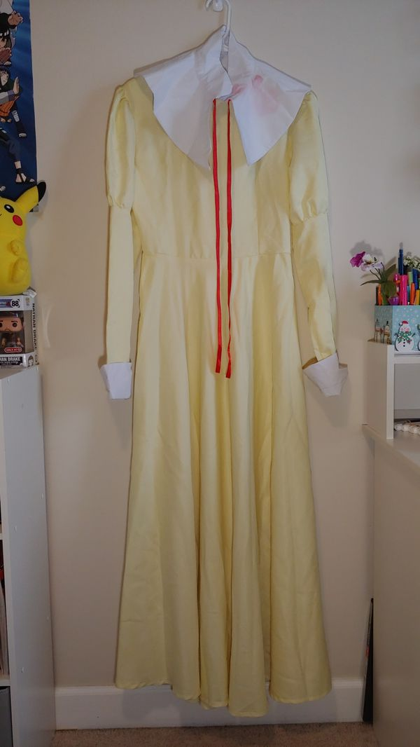 Yellow Dress size adult M (ouran highschool host club female cosplay)