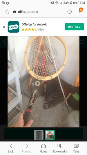Spalding Tennis Racket RARE Challenger for Sale in Leesburg, VA