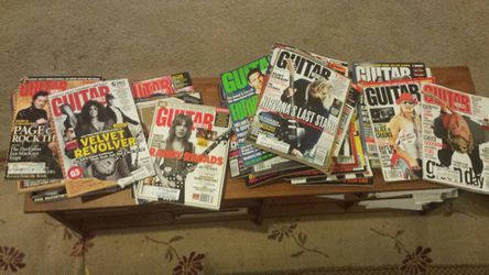 Guitar World Magazines Lot of 37 for Sale in Austin,  TX