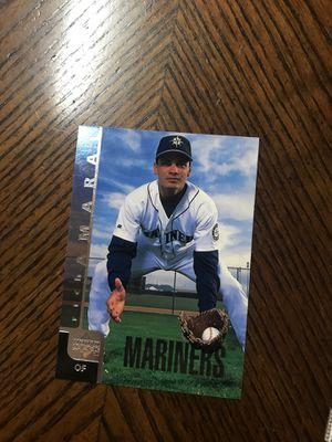 1998 baseball card rich Amaral for Sale in McDonough, GA