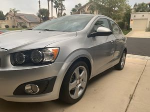 2016 Chevy Sonic LTZ clean title Mint shape for Sale in Hesperia, CA