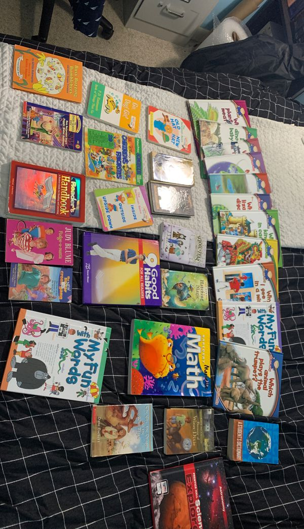 Children's educational books! Math, science, history, fiction, nonfiction!