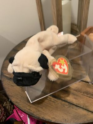 Pugsly Retired Ty Beanie baby for Sale in PA, US