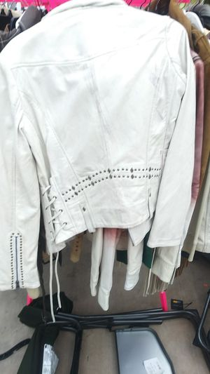 Leather jacket Malibu Road brand retail value $450 my price is $150 buy one get one free for Sale in Los Angeles, CA