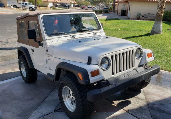1997 Jeep Wrangler TJ 4.0 AT