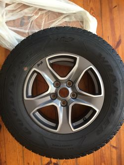 5 Wheels with tires mounted Jeep JL for Sale in Charlotte,  NC