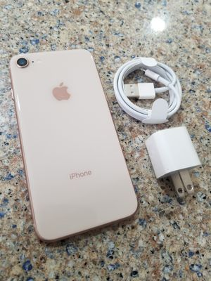 UNLOCKED IPHONE 8 64GB GOLD, (THIS IS NOT THE PLUS) PERFECT CONDITIONS !!! PRICE IS FIRM !!! for Sale in Oakland Park, FL